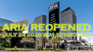 How Aria Hotel & Casino Looks After Reopening YouTube Videos