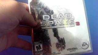 Dead Space 3: Limited Edition Unboxing (PS3)