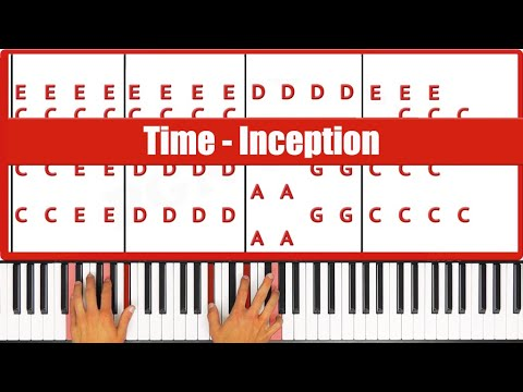 ♫ ORIGINAL - How To Play Time Inception Piano Tutorial Lesso