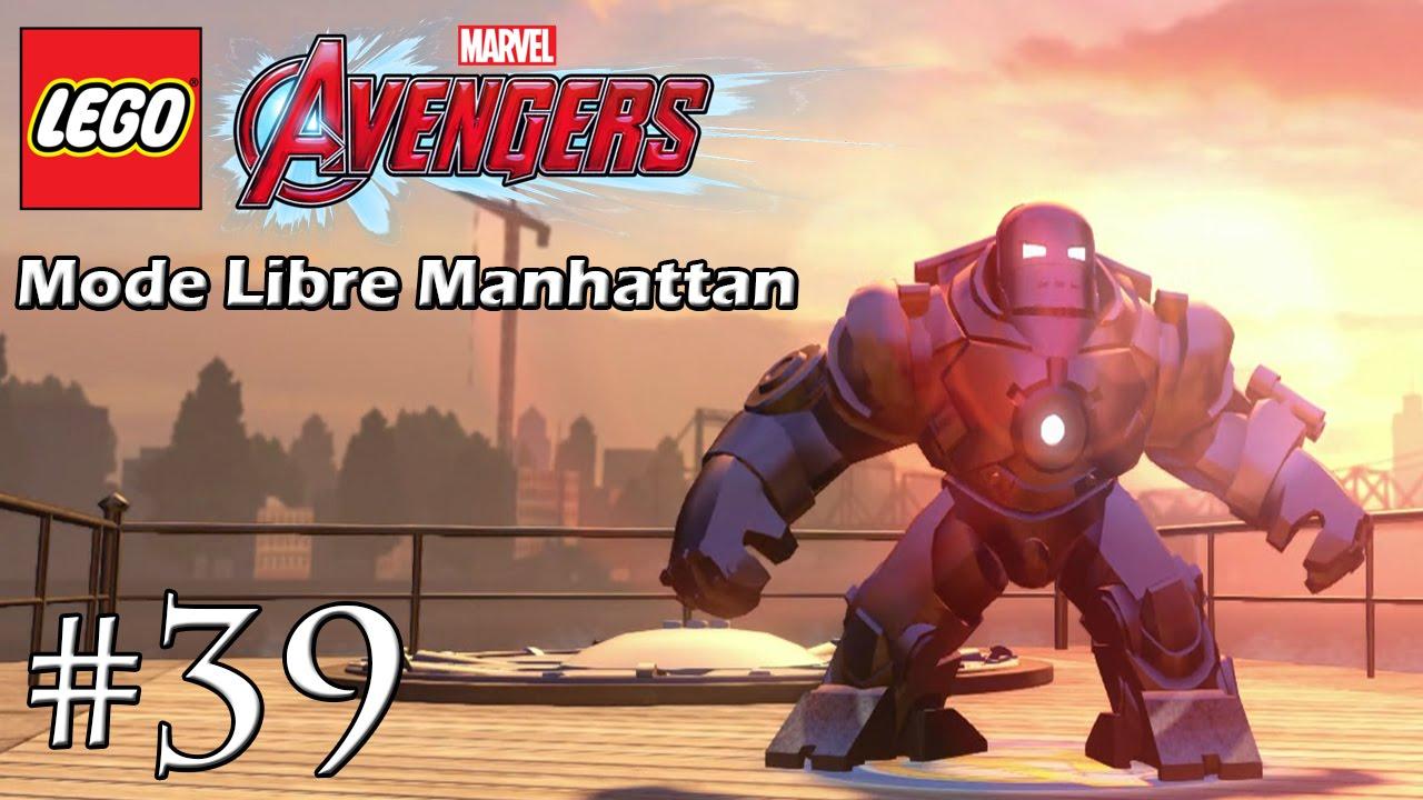 Lego Marvel Avengers Fr 39 Mode Libre Manhattan 96 7 Youtube