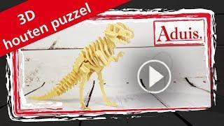 3D houten puzzel dinosaurus
