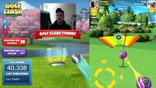 Golf Clash tips, Hole 1 - Par 4 Expert - BREAKDOWN - Power Slice!