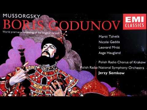 Mussorgsky - Boris Godunov/Original Version (Talvela - recording of the Century : Jerzy Semkow)