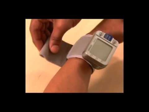 How to Use Omron Home Wrist Blood Pressure Monitor