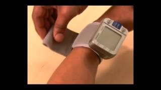 How to Use Omron Home Wrist Blood Pressure Monitor