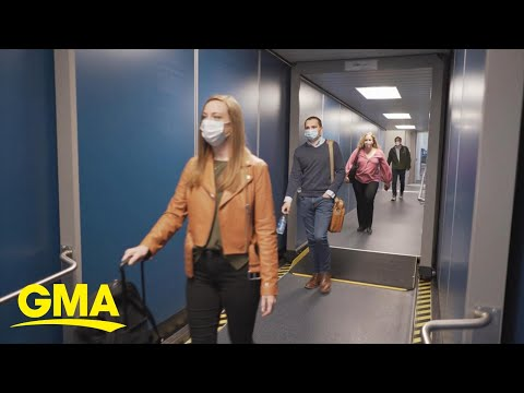 Images Show Airlines Not Practicing Social Distancing On Flights   GMA