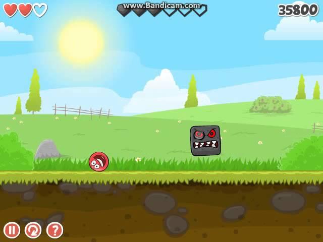 Red Ball 4 Level 15 + Ending