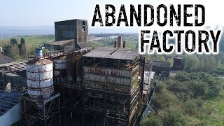 HUGE ABANDONED FACTORY - Exploring Redhill Earthworks