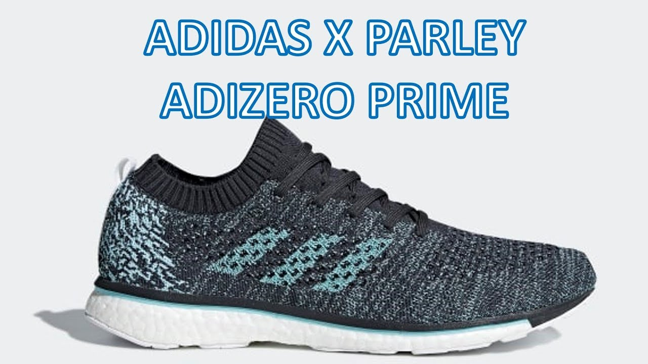 premium selection f1b05 27d43 REVIEW - Adidas x Parley Adizero Prime
