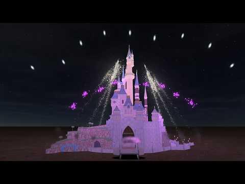 DLP Disney Dreams of Christmas recreation (FWsim)