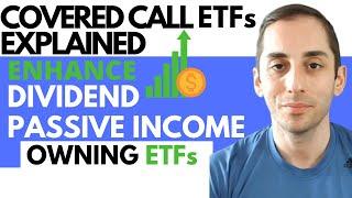 COVERED CALL ETFs EXPLAINED|GREAT CHOICE FOR PASSIVE INCOME INVESTORS |INCREASE YOUR DIVIDEND INCOME