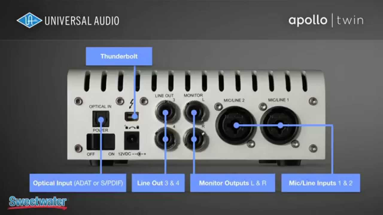 Universal Audio Apollo Twin Overview - Sweetwater Sound