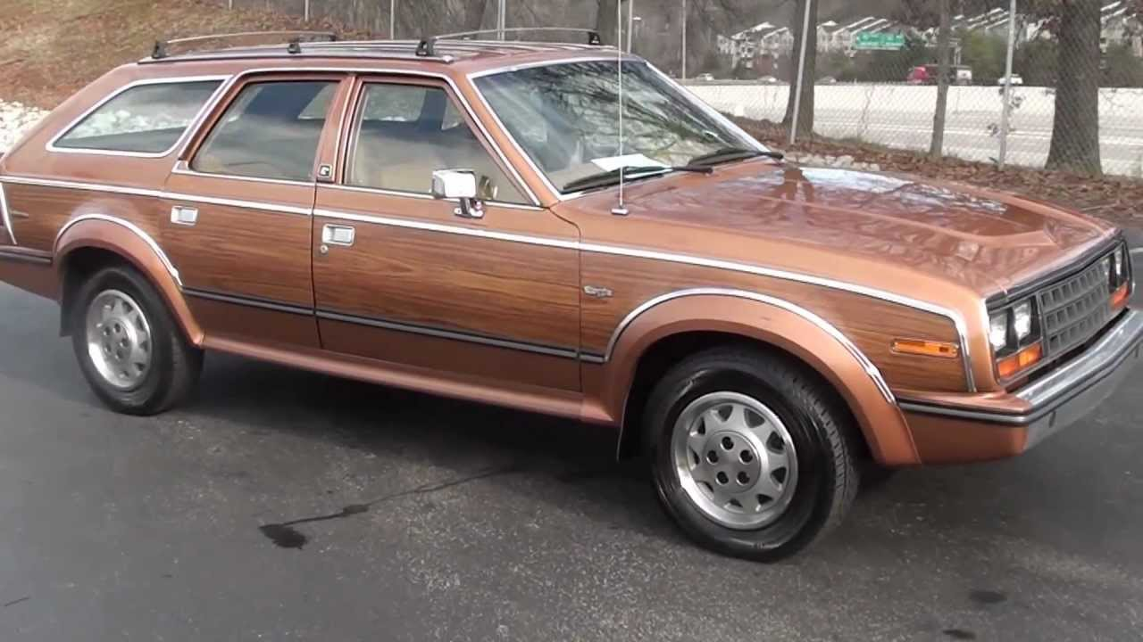 FOR SALE 1985 AMC EAGLE 4WD!! ONLY 69K MILES!! STK# 110196A www ...