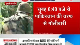 Breaking News: J&K: Pakistan violates ceasefire again, 2 civilians killed