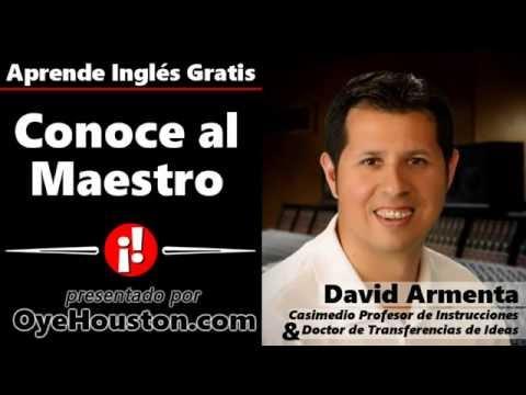 Conoce Al Maestro David Armenta