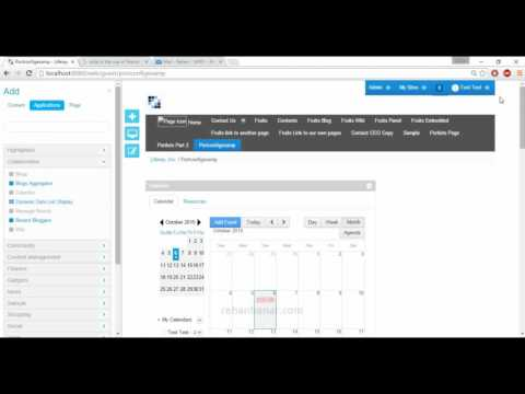 Liferay 6.2 Tutorial Series Part 27 Portlet of Liferay Administration and Development complete