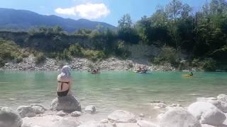 Camping and adventuring in Kobarid, Slovenia - July 2017