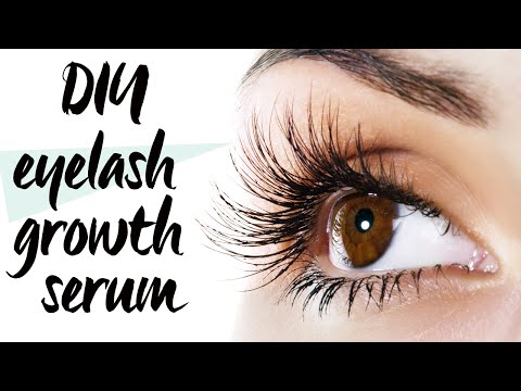 GROW YOUR LASHES WITH THIS DIY EYE SERUM