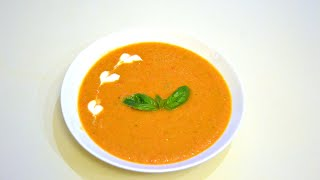 Летний холодный Суп Гаспачо | Как приготовить Легкий томатный Суп