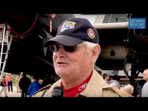 Canadian Warplane Heritage Museum's Rohrer on Royal Air Force Centenary, Avro Lancaster