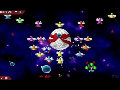 Chicken Invaders 2: Christmas Edition PC Gameplay HD