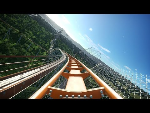 Planet Coaster: Orange Monster Roller Coaster |