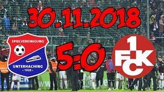 SpVgg Unterhaching 5:0 1. FC Kaiserslautern – 30.11.2018 – Todesstoß für Frontzeck!