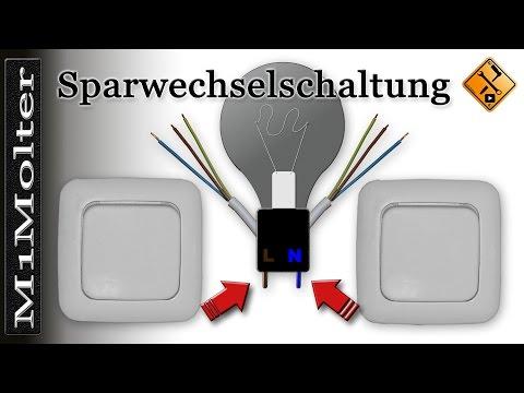 Sparwechselschaltung Anklemmen Wie? Prinzip & Einbauanleitung Kurz Erklärt M1Molter