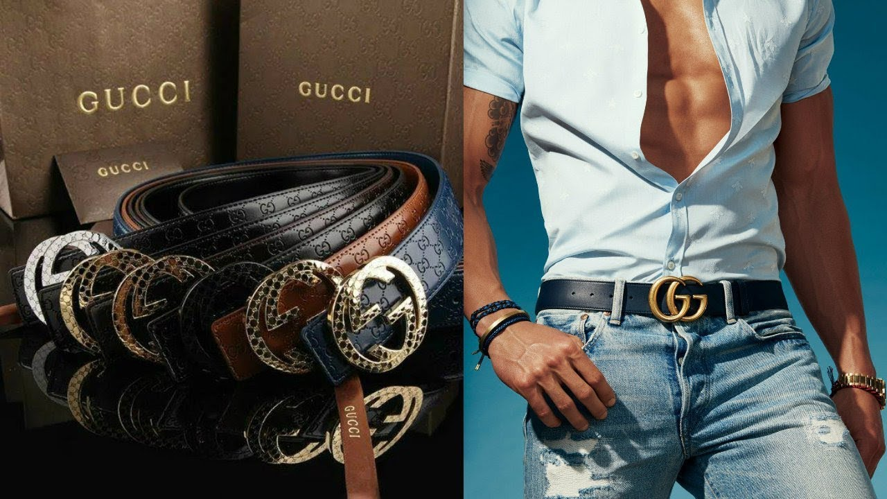 38fabde15294 Gucci Belt Mens 2018 - YouTube