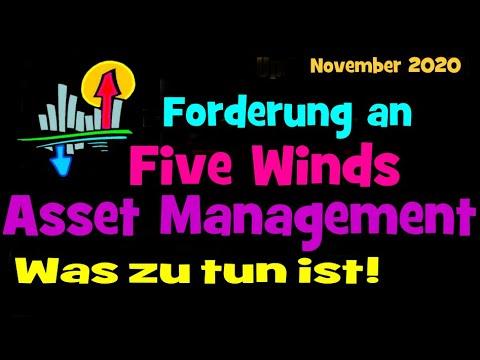 Five Winds Asset Management - Update. Ein Beitrag von Day-Trader Klaus Oldigs