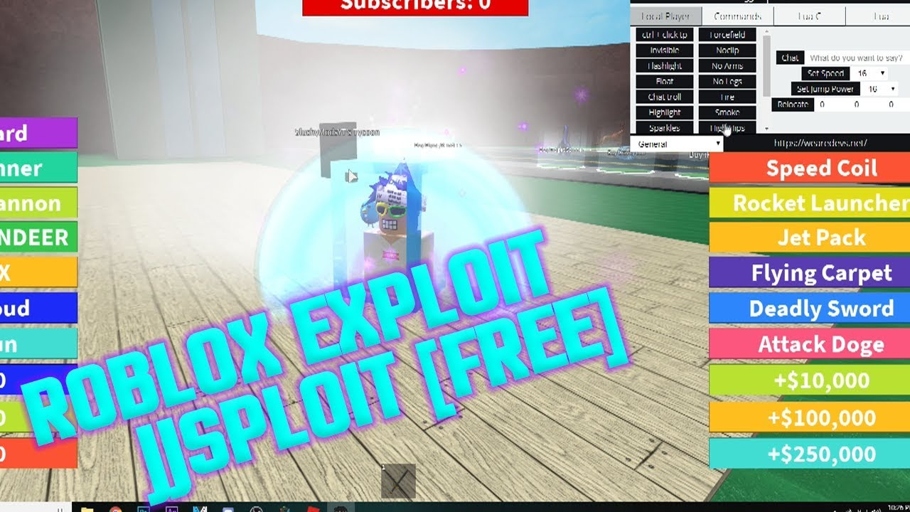 [NEW]✅ ROBLOX HACK/SCRIPT!✅ | JJSPLOIT | 😱 BTOOLS, FF, CHAT😱 [FREE]  [JULY14]