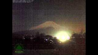 UFOs at holy Mt. Fuji-San, Japan 2011