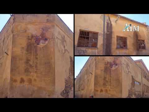 Eritrea: Urban decay - Asmara around Alfa Romeo