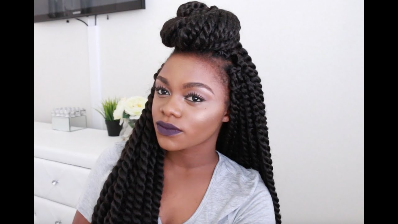 Crochet Twist Styles : 11 WAYS I STYLE CROCHET MARLEY/HAVANA TWISTS - YouTube