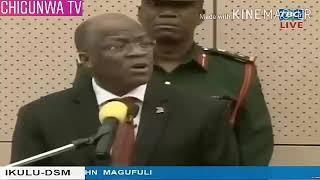 KIMENUKA:Sakata la dhahabu MAGUFULI aanika uchafu wote