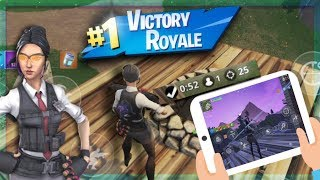 PRO Fortnite Mobile Player! #1 Solo Showdown on Mobile! Android + iOS! Fast Builder !