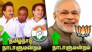 BJP leading in Lok Sabha polls ; DMK- Congress Alliance Leads In Tamil Nadu   Election Results 2019