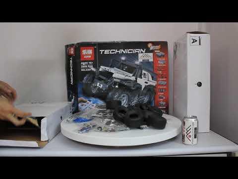 Mở hộp Lepin 23011 Lego Technic MOC-5360 Avtoros Shaman 8x8 giá cực hot