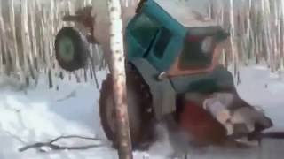 Tractor fail. Heavy equipment fail compilation