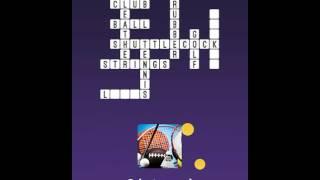 One Clue Crossword -  Examine Pics To Solve Crosswords! iOS Gameplay