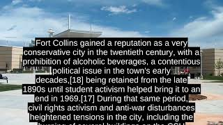 Fort Collins, Colorado (USA) - Facts, History, Economy