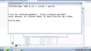 Telecharger IDM 6.25 + crack + patch