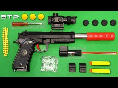 P90 Smg Toy Gun Electric Hydro Blaster Gel Ball Sho