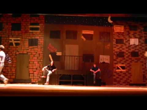 Bronx Science HS Musical - West Side Story: Prologue rumble