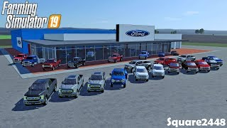 New Mega Ford Dealership | Preparing For Grand Opening | Farming Simulator 19