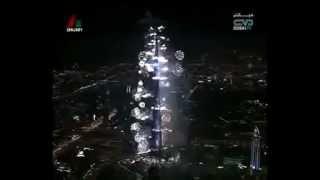 INAUGURACION DEL BURJ KHALIFA EN DUBAI