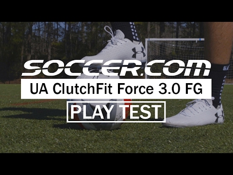 Play Test Review  Under Armour ClutchFit Force 3.0 FG - YouTube b90bfd18e6578