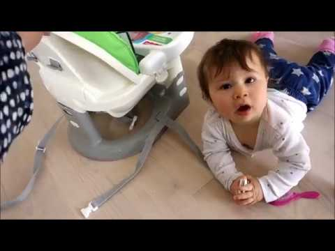 Fisher Price Space Saver High Chair assembly and review