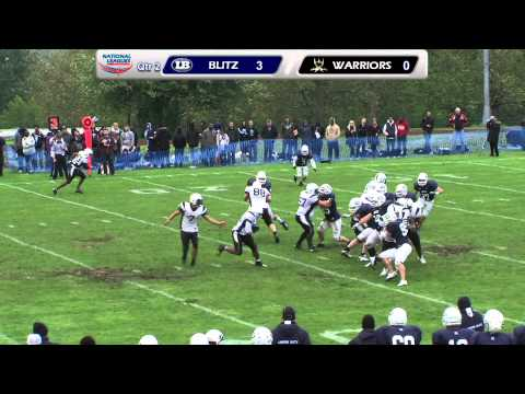 London Blitz v London Warriors -- BAFANL Premiership South -- 20th May 2012