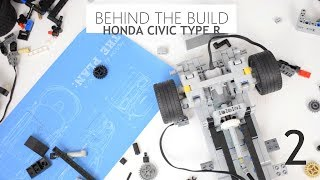 Behind The Build - Lego Honda Civic Type R /ep.2